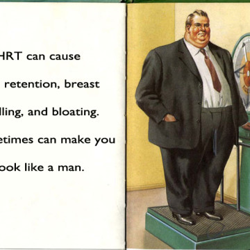 ladybird book of the menopause page 6