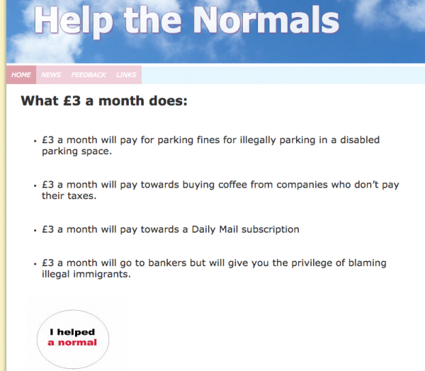 Help the Normals