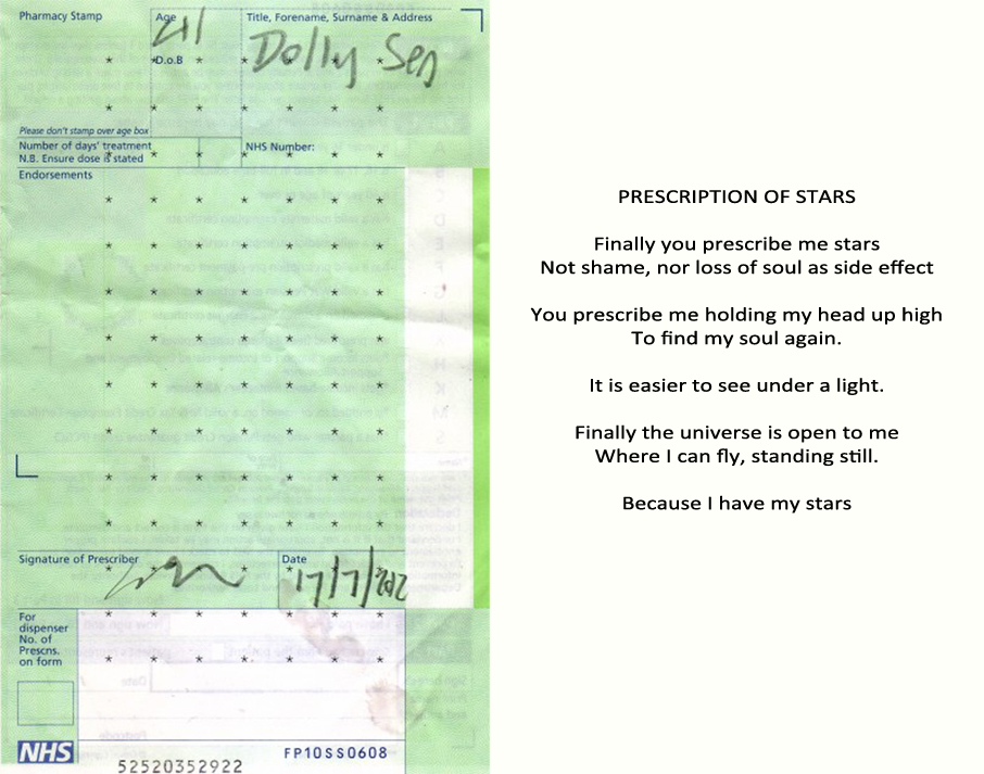 prescription of stars poem