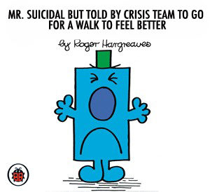 Mr Suicidal by Dolly Sen