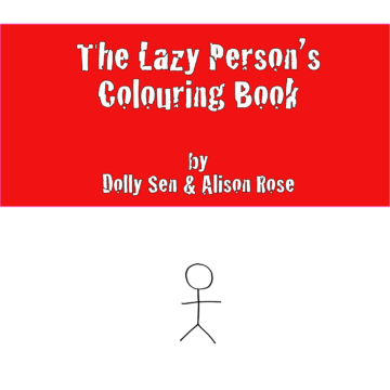 Lazy Person's Colouring Book